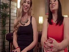 Lea Lexis & Lyra Louvel strapon anal porn