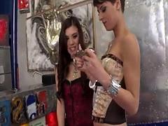 21 - Coco De Mal and Tiffany Doll Share Dick