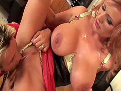 Sharon Pink likes to get nailed