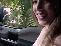 Horny Jessie Wylde takes a strangers big dick in many angles