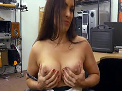 Seductive milf Sophie Leon gets wet pussy pounded hard