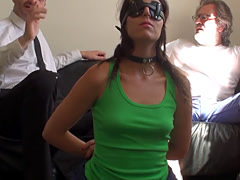 Liz Rainbow getting spanked and drilled