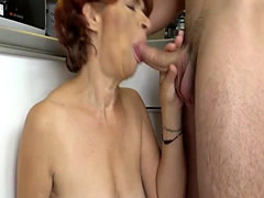 Mature Lady Gets Her Pussy Jizzed