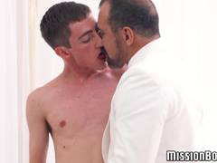 Horny mormon elder claims shy twinks sweet ass