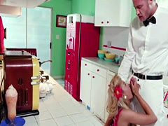 The milkman delivers milk to cheating wife Kayla Kayden