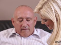 DADDY4K. Horny Blondie Wants To Try Someone Little Bit…