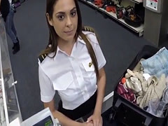 Chubby big boobs Fucking A Sexy Latina Stewardess