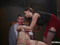 Chanel Preston Pegging Sub Hunk