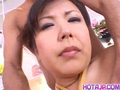 Rough Asian bondage porn scenes with Marin Asaoka - More at hotajp.com