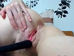 Carnal Blonde Hustler And A Vibrator