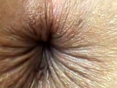 close up butthole winking
