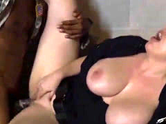 Big tit milf car Fake Soldier Gets Used as a Fuck Toy