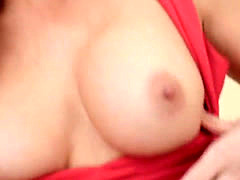 Blonde MILF spreads her legs for cock