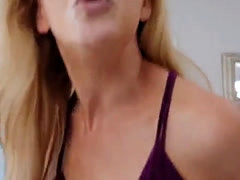 Mom after oil and hot blowjob crony's duddy Cherie Deville in Impr