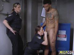 Milf threesome rimming and redhead masturbate bathroom Don't be dark-h