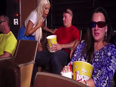 BigBoobsVIP – Busty gf Bridgette horny at the movies