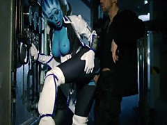 Scifucks – Sexy blue alien Liara seduces Shephard