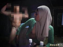 Arab arabic grandma Sneaking in the Base!