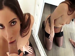 Mick Blue fucks Clea Gaultier tight anal on top