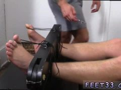 Old boy gay porn Connor Maguire Jerked & Tickle d