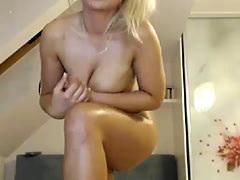 Self Indulgent Blonde Prostitute With Big Tits