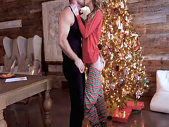 Jillian Janson ass fucked during Holidays