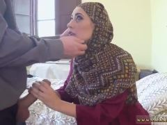 Muslim old man and arab guy fuck maid No Money, No Problem