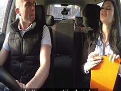 Australian guy fucks driving examiner