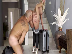 Old sucking compilation and daddy eats duddy' patron's daughte