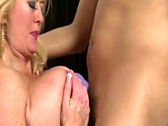 Big Boobs Blonde Milf Gets Ass Fucked