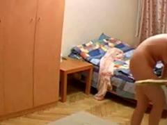Hidden cam in wife's room