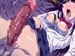 Hentai Clip With a Cutie Riding Dick