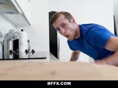 BFFS - Horny Bestfriends Share Girthy Cock