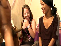 Partygirl doggystyle fucked by stripper