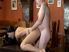 Secretary seduces old boss and lady sex Can you trust your gf leaving
