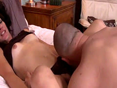 Mature tranny assfucking male lover