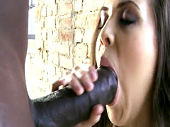 Glam euro buttfucked by bbc after sucking it