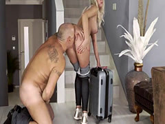 Russian blonde old man and men big cocks xxx Finally at home, finally