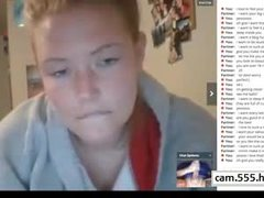 Home girl was excited in the chat, cam.555.hhos.ru