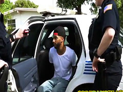 Stud criminal gets cock fucked by horny female cops