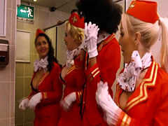 British stewardesses take frequent flyer to the mile high club