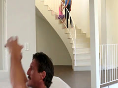 Kennedy Kresslers pussy doggystyle fuck so hard by her step son
