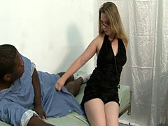 Tera knows how to please a black cock