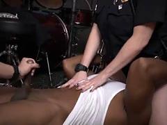 White Hot Female Cops In Uniforms Sucking Black Dudes Dick