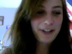 Horny Schoolgirl Makes Her Nude Selfshot Video