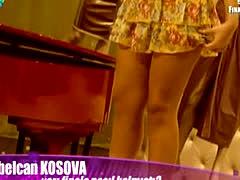 Turkish Teen Sibalcan Kosova Sexy Mini Skirt Hot L