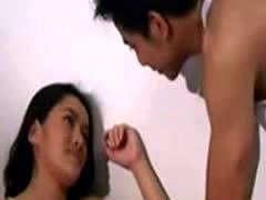 Hot asian couple airborne Jennifer Lee
