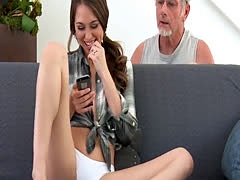 Young wife cuckolds her older husband and he filmed it all
