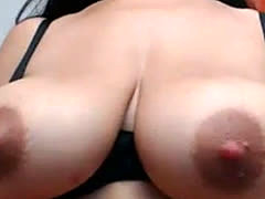 Squirting Milk From Big Tits