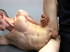 Leather gay cop fiction and police man fuck hard a young  boy Two dadd